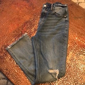 {Vigoss} High-Rise Destroyed Jeans. Size 27.